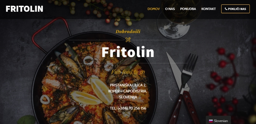 Fritolin.com, restaurant